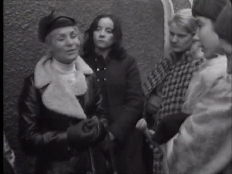 Grève de femmes à Troyes